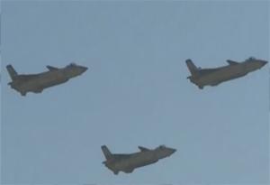 珠海航展|過癮!殲-20編隊霸氣出場