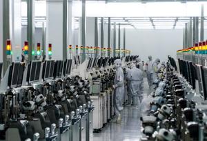 粵唯一量産12英寸芯片生産線投産