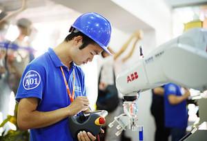 """""""互聯網+""""博覽會期間將上演工業機器人應用技能大比拼"""