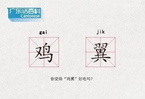 """廣東話百科:雞翼(你覺得""""雞翼""""好吃嗎?)"""