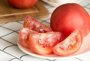 吃西紅柿拌白糖 體內會長螨蟲?