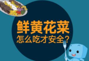 鮮黃花菜怎麼吃才安全?