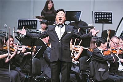 廖昌永和梅溪湖男孩們高唱愛國歌曲 掀起廣州1800多位觀眾大合唱浪潮