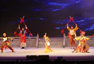新編粵劇《八仙過海》在粵劇藝術博物館展演